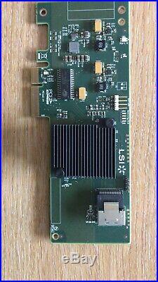 10xLSI SAS 9211-4i 6Gbps 4 Ports HBA PCI-E SATA SAS RAID Controller Card