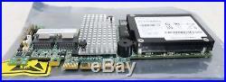 2 x NEW IBM 46M0851 M5015 SAS/SATA PCI-E RAID Controller Cards & Battery Units
