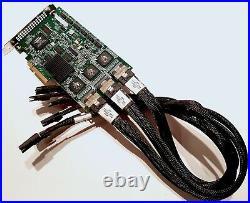 3Ware 9650SE-24M8 SATA PCIe 24-Port 512MB RAID W Cables