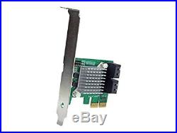 4 Port Pci Express 2.0 Sata Iii 6gbps Raid Controller Card With Hyperduo Ssd Tie