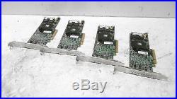 4x LSI MR SAS 9271-8i PCI-e 6Gb/s SATA SAS 1GB RAID Controller Dell VMWW9^