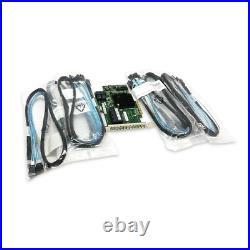 ADAPTEC 72405 1GB 24-Port SAS SATA PCIe Gen3 RAID 6x HD SAS Cables No Battery
