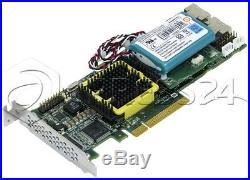 ADAPTEC ASR-5805 3G SAS/SATA RAID CONTROLLER PCIe LOW PROFILE + BBU