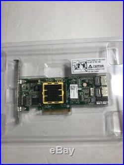ADAPTEC ASR-5805 512MB 8 Port PCIe SAS/SATA RAID Controller PCI-EXPRESS DDR2 8x