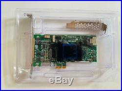 ADAPTEC ASR-6405E 4x SAS/SATA 6G RAID 128MB PCIe Raid Controller