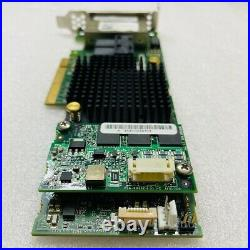 ADAPTEC ASR-78165 4-Port SATA 6Gb/s RAID card Low Bracket +8643 cable &AFM-700CC