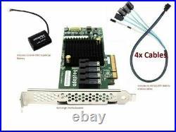 ADAPTEC RAID Controller 71605 16-Ports SAS/SATA PCI Express 3.0 with Cooler