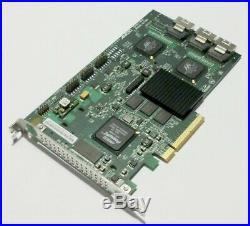 AMCC 9650SE-12ML SATA RAID 0 1 10 5 50 6 JBOD Controller 256MB 3xMultiLane PCIe