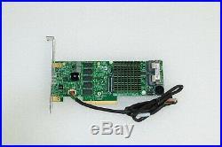 AOC-S2208L-H8IR SUPERMICRO 8 PORT SATA SAS 6GB/S PCI-E RAID CONTROLLER With CABLE