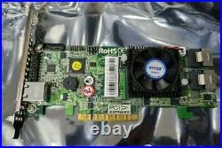 ARECA ARC-1882i 8 PORT 1GB DDR3 CACHE SAS/SATA 6GBPS PCIe x8 RAID CONTROLLER