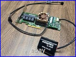 ASR-71605 Adaptec 16 Port SAS/SATA 6Gbps PCIe x8 3.0 Raid Controller 1GB