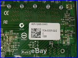 ASR-72405 ADAPTEC 2274900-R 6Gbps 1GB Cache SAS/SATA PCIe Raid LOT OF 10