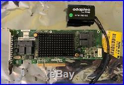 ASR-81605ZQ Single Adaptec SAS/SATA 6Gbps PCI Express 3.0 RAID Controller Card