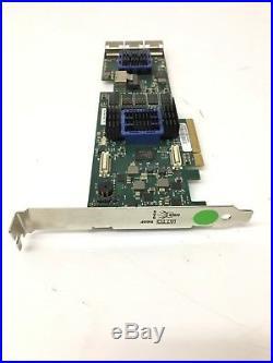 ATTO TechnologyR60F ExpressSAS 16-Port 6 Gb/s SAS/SATA RAID PCIe Card USED
