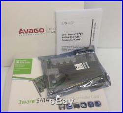 AVAGO 3Ware 9750-24I4E PCie x8 RAID Controller 24 Port SAS / SATA LSI00251 (NEW)