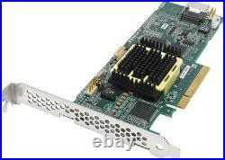 Adaptec 2260200-R ASR-2405 128Mb DDR2 PCI-E SAS/SATA 3.0 Raid Controller New