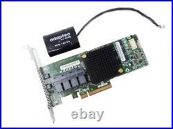 Adaptec 2274400-R 16 Port SAS SATA 6GB/s 1GB PCI-E RAID Controller ASR-71605