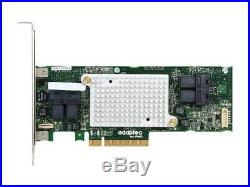 Adaptec 2281600-R 16-Port PCI-Express 3.0 x8 SATA/SAS RAID Controller Card
