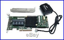 Adaptec 71605 16-port int SATA / SAS RAID Controller 6G PCIe x8 3.0 1GB AFM BBU