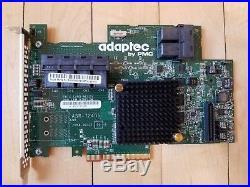 Adaptec 72405 PCI-Express 3.0 x8 24 Port SATA / SAS RAID Controller Card