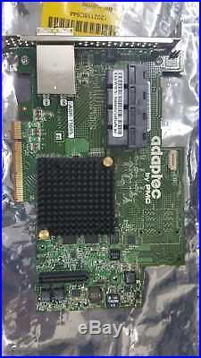 Adaptec 8 Ext 16 Int Ports SATA-III SAS-2 PCI-e 3.0 RAID ASR-71685