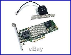 Adaptec 81605ZQ 16-port intern SATA / SAS RAID Controller 12G PCIe x8 3.0 1024MB