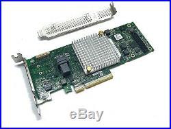 Adaptec 8405 4-port intern SATA / SAS RAID Controller 12G PCIe x8 3.0 1024MB 1GB