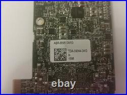 Adaptec 8805 8-port intern SATA / SAS RAID Controller 12G PCIe x8 3.0 1024MB 1GB