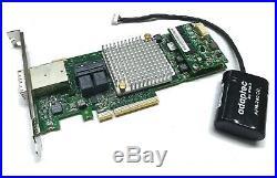 Adaptec 8885 16-port intern SATA / SAS RAID Controller 12G PCIe x8 1024MB 1GB