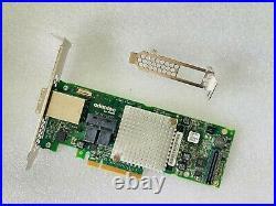 Adaptec 8885 2277000-R 24VP1 12Gb/s SAS SATA PCIe Raid Controller Card ASR-8885