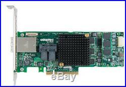 Adaptec 8885Q 2277100-R MaxCache 3.0 12Gb/s PCI-Express SAS/SATA RAID Card