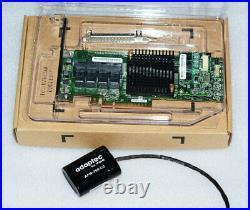 Adaptec ASR-71605 16-Port 6Gb/s 1GB SATA PCIe RAID + 8643 TO sata4 cable
