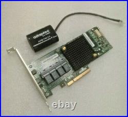 Adaptec ASR-71605 1G 16 port RAID SAS/SATA controller with battery AFM-700