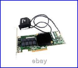 Adaptec ASR 71605 1GB 16 Port SAS SATA PCIe Raid Controller 2280200-R with Batter
