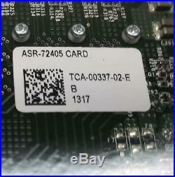 Adaptec ASR-72405 ADAPTEC 24 Port SAS/SATA 6GBPS 1GB CACHE PCI-E RAID CONTROLLER