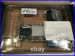 Adaptec ASR-81605Z v2 2287101-R 12Gb/s PCIe Gen3 SAS/SATA RAID / HBA Adapter