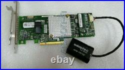 Adaptec ASR-8405 4-port SATA / SAS RAID Controller 12G PCIe x8 3.0 1GB +battery