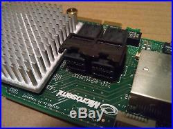 Adaptec ASR-8885 2277000-R 12Gb/s 1GB SAS SATA PCIe Raid Controller Card READ