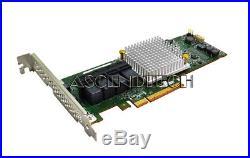 Adaptec Asr-71605e 6gb/s Pci-e 3.0 X8 256mb SATA Sas Raid Controller Card USA