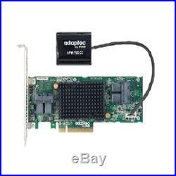 Adaptec Controller Card 2281600-R 12Gb/s pci-e SAS/SATA 8RAID Adapters Bare
