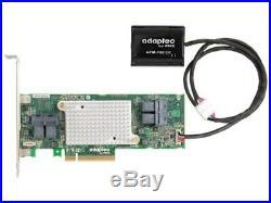 Adaptec Controller Card 2287101-R 16Port 12Gb/s SAS/SATA RAID Card PCI-Express x