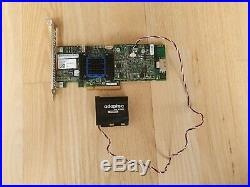 Adaptec RAID 6405 512MB PCI-Express SATA SAS Controller + Battery (ASR-6405)