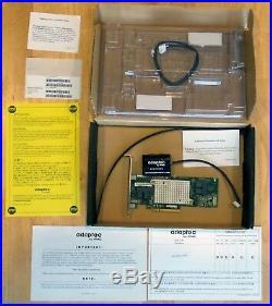 Adaptec RAID 81605ZQ with AFM-700 CC, 12Gb/s, 16 internal SAS/SATA 3, PCIe 3.0 x