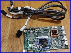 Adaptec RAID ASR31605/256Mb PCI-E X8 Controller with 4SATA Cables