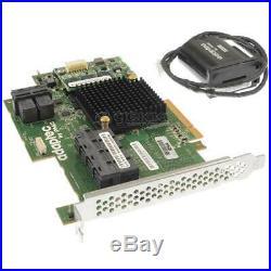 Adaptec RAID-Controller 6CH 1GB SAS SATA 6G PCI-E ASR-72405