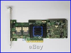 Adaptec Raid Controller ASR-6805T 8 Ports PCIE2 x8 512MB+28087 to 4 SATA