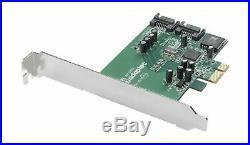 Adaptec SATA-300 2-Channel LP PCIe x1 RAID Controller