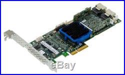 Adaptec asr-3805 SAS/SATA CONTROLLER RAID 2x SFF-8087 PCIE X 4