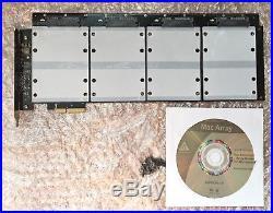 Apricorn PCI-E x4, x16 Raid Controller 4x SATAIII SSD für Mac Pro Mac Array TOP#