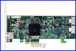 Areca 1203-8i 8-Port PCIe x4 to SATA RAID Adapter with miniSAS to miniSAS Cable